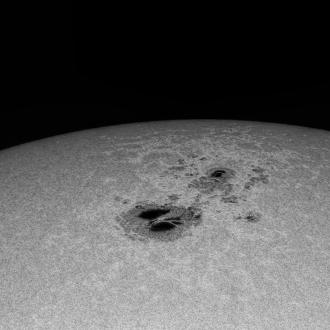 2014.10.28 sun spot!
